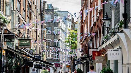 Explore the chic boutiques and shops around Marylebone