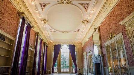The long gallery at Wentworth Woodhouse Photo Jane Vernon