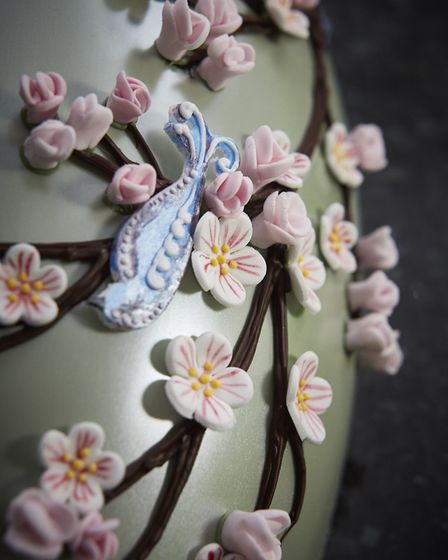 'The blossoms work really well with our traditional royal icing flowers to give us a fresh oriental