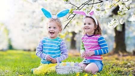 Enjoy the Toddler Easter Party at Thornton Hall Country Park Photo:Getty Images/iStockphoto/FamVeld