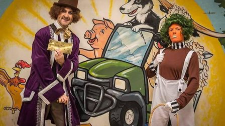 Join in special workshops with Charlie, Willy Wonka & their Oompa Loompa friends