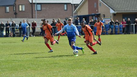 Yorkshire's national team in action against the Chagos Islands