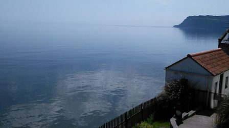 The sea view from the Chapel at Secret Seaview @secretseaview Facebook