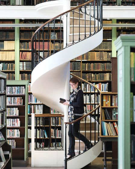 Sarah West in the 'wonder world of books'