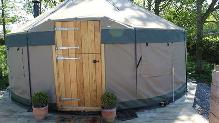 Yurts at the Wensleydale Experience