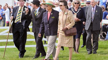 Princess Anne is the royal guest at the 160th Great Yorkshire Show Photo Kate Mallender