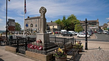 Leyburn, is a small but welcoming market town Photo Alamy