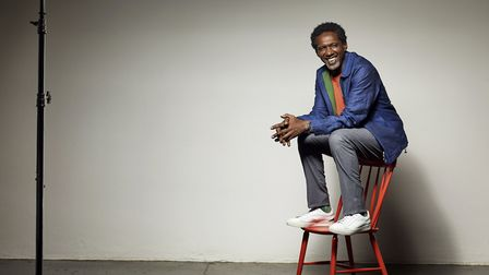 Performance poet Lemn Sissay shines a light on life in care in his play Something Dark Photo: Hamish