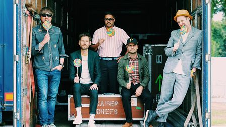 Kaiser Chiefs have got this curation malarkey licked Photo: Dani Beck