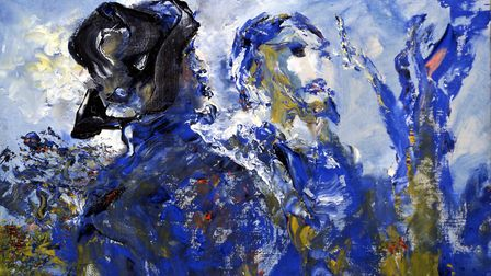That We May Never Meet Again by Jack Butler Yeats, 1952-58, made the cut