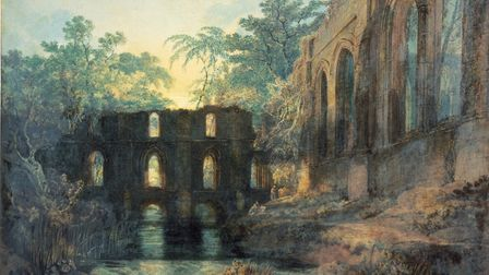 Giving a nod to their Yorkshire roots with The Dormitory and Transept of Fountains Abbey by JMW Turn