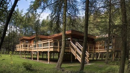 There are six uniquely designed luxury lodges on site at Studford Luxury Lodges