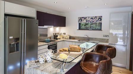 The fully-fitted deluxe kitchen provides the opprtunity for a great self-catering holiday
