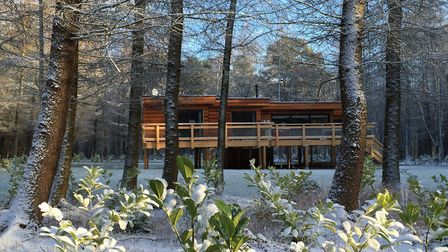Studford Luxury Lodges can provide a relaxing getaway in all seasons