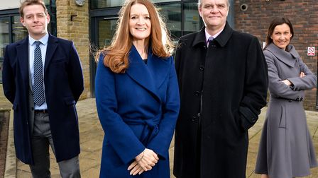Robert Feather, Senior Investment Manager; Julie Jones, Managing Director; Patrick Toes, Investment