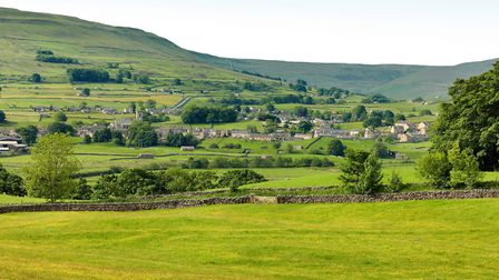 Hawes the unofficial capital of the Upper Dale Photo: Alamy