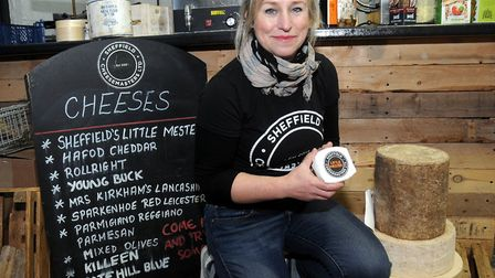 Sophie Williams has an unwavering passion for making unique cheeses