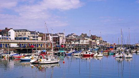 Boats moored in Bridlington harbour Photo: Alamy