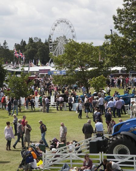 Crowds flock to the Great Yorkshire Showground for a proper county day out