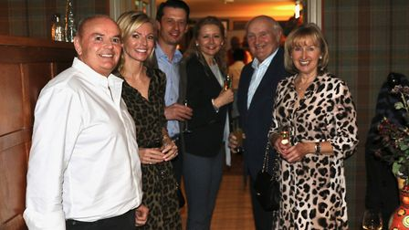 Ben and Liza Hazell, James and Vicky Calvert, Vic and Margaret Butters