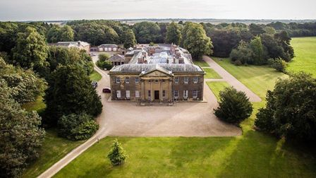Rise Hall from ther air (c) Peter Hugo