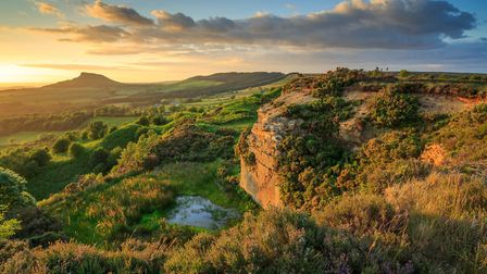 Golden hour at Cockshaw Hill, a glorious example of Yorkshire's peatlands. Picture by James Pang