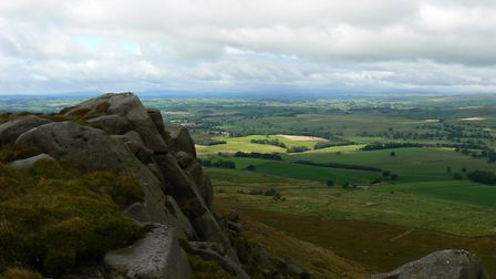 A view from the top at Rylstone Edge (c) Matt O'Brien myyorkshiredales.co.uk