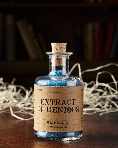 Who couldn't use an 'Extract of Genius?' Photo Credit James Brown