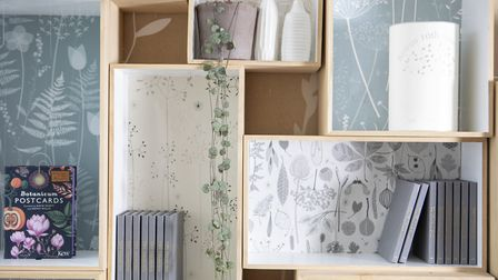 'There is lots of tweaking and experimenting, especially with wallpaper repeat designs, says Hannah