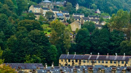 Terraced houses in Hebden Bridge (c) Graham Hardy / Alamy Stock Photo