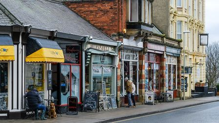 Shops in Filey (c) Tony Bartholomew