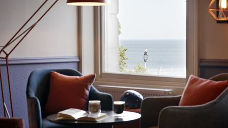 Sea Views over South Bay at Scarborough from the Bike&Boot hotel Image: Adrian Ray