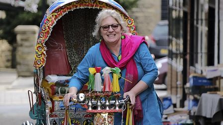 Mo MacLeod owner of new business Rickshaw which opens in Malton on 2nd September and has pledged to donate 10 percent...
