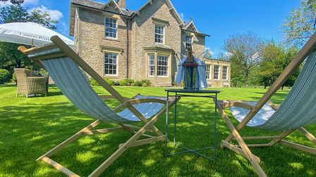 Al fresco at Yorebridge House