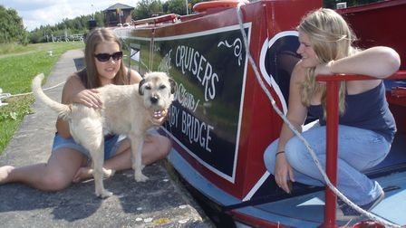 Canines and canals make a good holiday combo