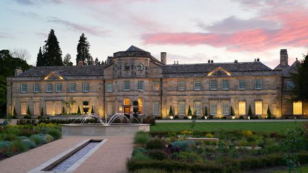 'The hotel is beautiful and surrounded by 37 acres of pristine, landscaped grounds.' Picture: Grantley Hall