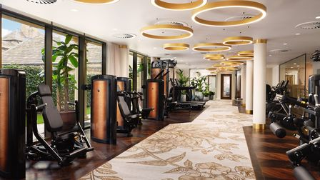 The ELITE executive gym and wellness area includes high-spec fitness equipment and a range of specialist treatments.