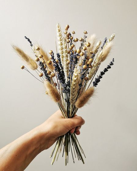 The gift of dried flowers