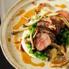Glorious plates, like this perfect autumnal dish, are served up at Elsworth