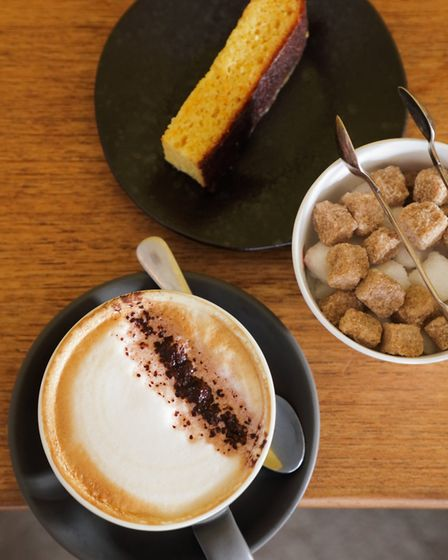 Coffee and cake - the perfect partners