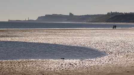 You can walk along the sands to Whitby from Raithwaite
