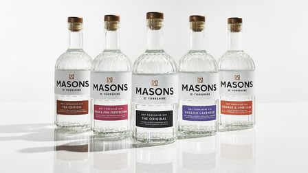 The Masons of Yorkshire range features a variety of flavours, including their new orange and lime leaf gin. Photo: Tim...