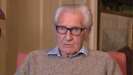 Picture of Michael Heseltine on Sky News