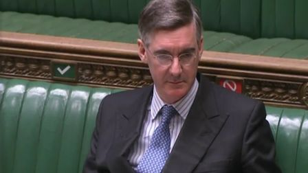 Jacob Rees-Mogg in the House of Commons