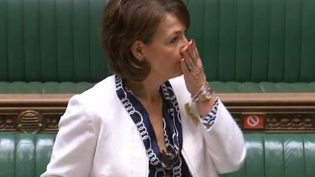 Jo Churchill in the house of commons
