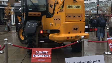 Boris Johnson has been given the chance to make good on his word and lay in front of a bulldozer in