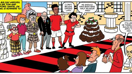 Dominic Cummings and Boris Johnson are mocked in a special edition of the Beano