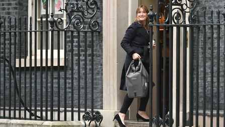 Allegra Stratton, the face of Downing Street's new daily televised press briefings