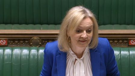 Liz Truss in the House of Commons