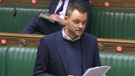Ben Bradley in the House of Commons